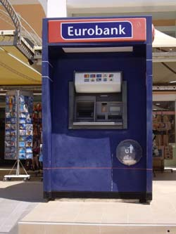 Greece ATM Euro Exchange Rates